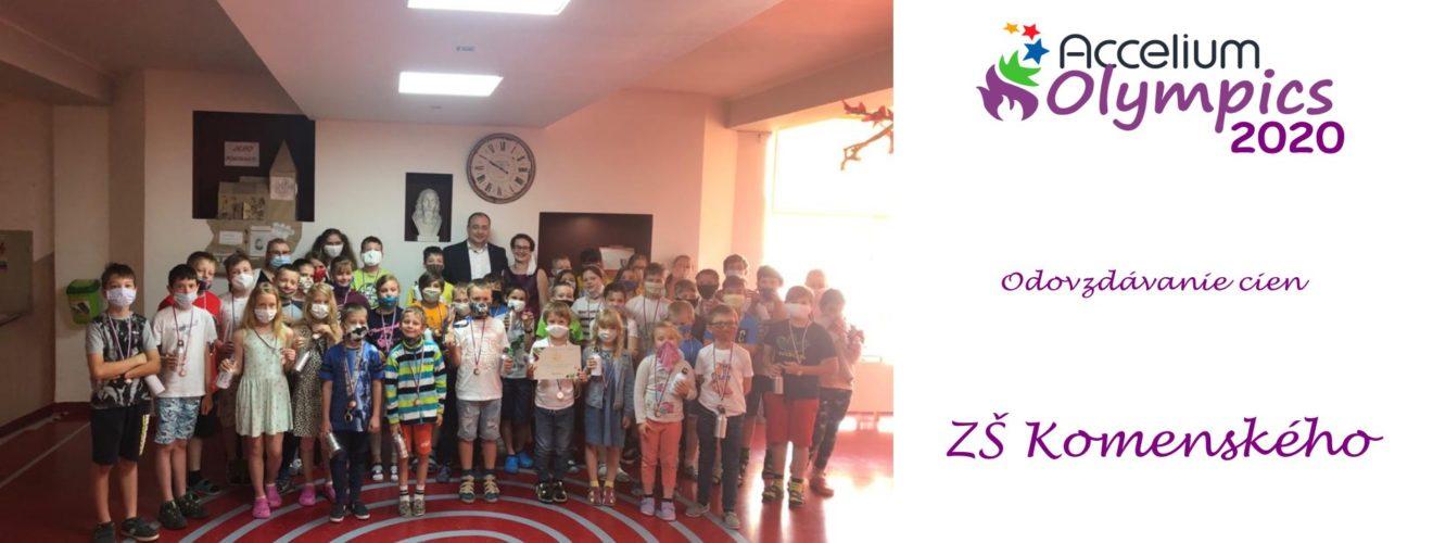 ZS Komenského s logom